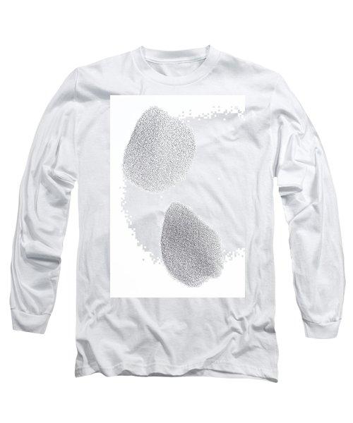 Common Starling Sturnus Vulgaris Flock Long Sleeve T-Shirt by Ingo Arndt