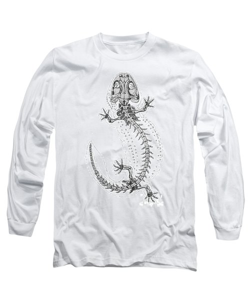 Cryptobranchus, Living Fossil Long Sleeve T-Shirt by Science Source