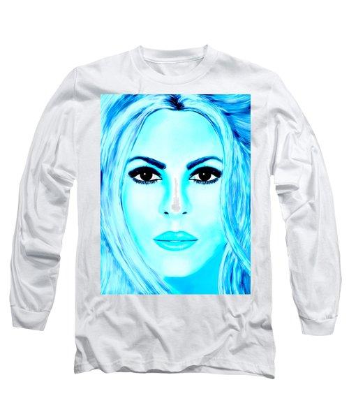 Shakira Avator Long Sleeve T-Shirt by Mathieu Lalonde