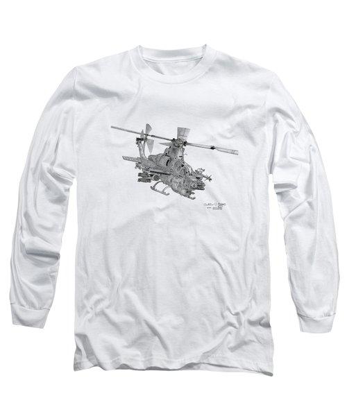 Bell Ah-1z Viper Long Sleeve T-Shirt by Arthur Eggers
