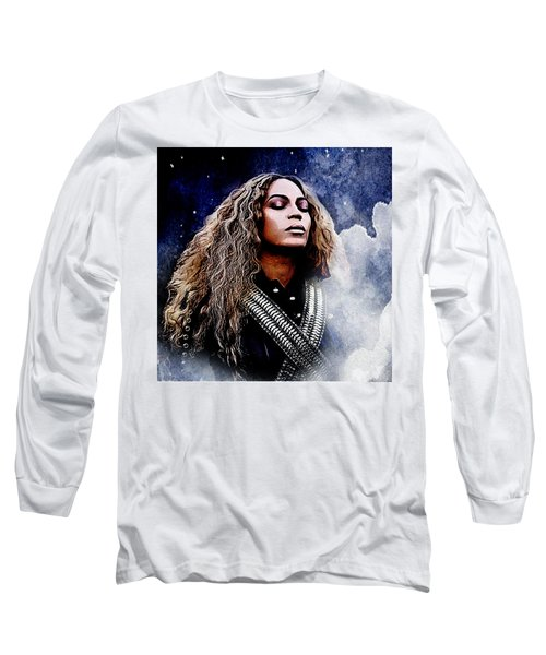 Beyonce  Long Sleeve T-Shirt by The DigArtisT