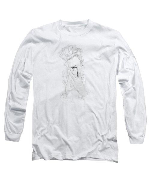 David Lynch Hands Long Sleeve T-Shirt by Yo Pedro