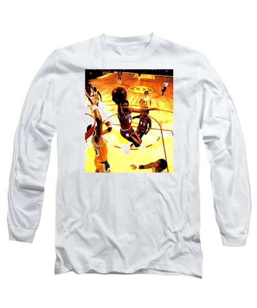 Doctor J Long Sleeve T-Shirt by Brian Reaves