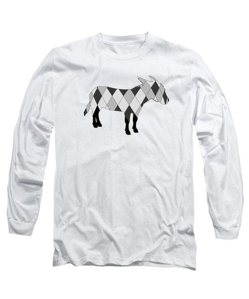 Donkey Long Sleeve T-Shirt by Mordax Furittus