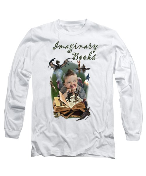 Imaginary Books Long Sleeve T-Shirt by Joseph Juvenal