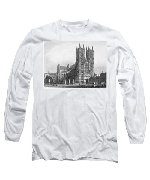 London: Westminster Abbey Long Sleeve T-Shirt by Granger