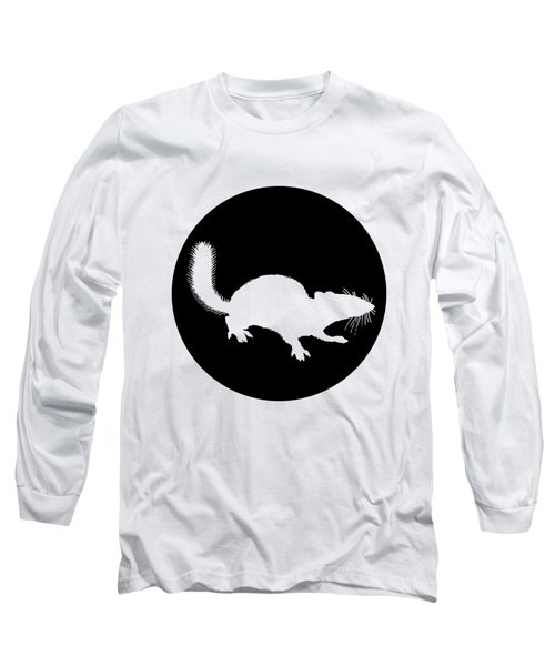 Squirrel Long Sleeve T-Shirt by Mordax Furittus
