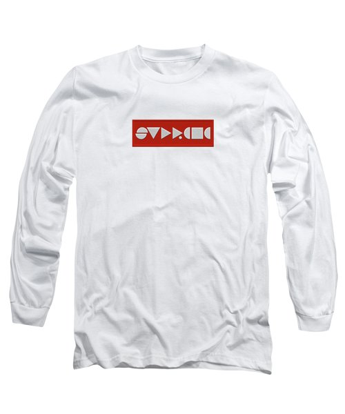 Supreme Being Embroidered Abstract - 1 Of 5 Long Sleeve T-Shirt by Serge Averbukh