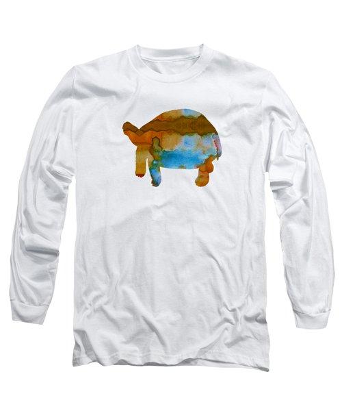 Tortoise Long Sleeve T-Shirt by Mordax Furittus