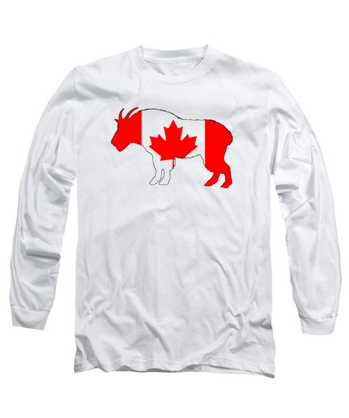 Wild Goat Long Sleeve T-Shirt by Mordax Furittus