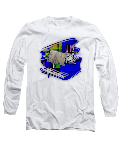 Piano Collection Long Sleeve T-Shirt by Marvin Blaine