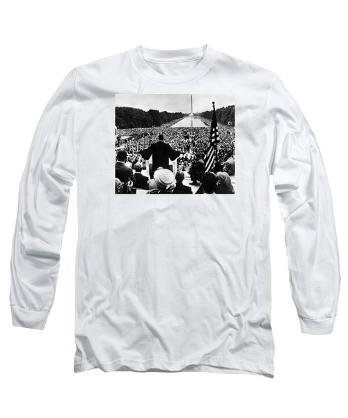 Martin Luther King Jr Long Sleeve T-Shirt by American School