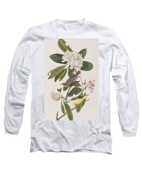 Canada Warbler Long Sleeve T-Shirt by John James Audubon