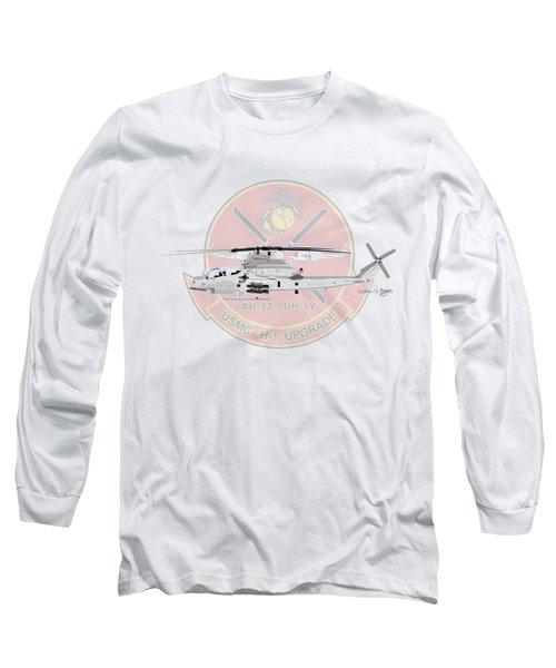 H-1 Upgrade Long Sleeve T-Shirt by Arthur Eggers