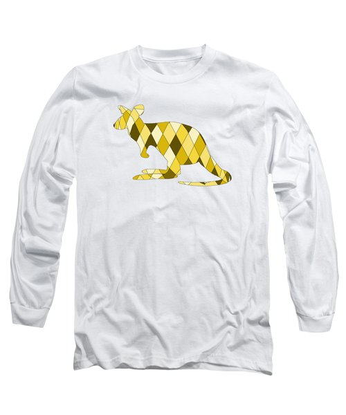 Kangaroo Long Sleeve T-Shirt by Mordax Furittus