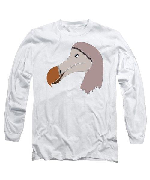 The Extinction Club - Dodo Long Sleeve T-Shirt by Marcus England