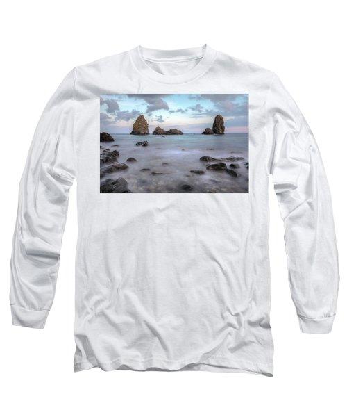 Aci Trezza - Sicily Long Sleeve T-Shirt by Joana Kruse