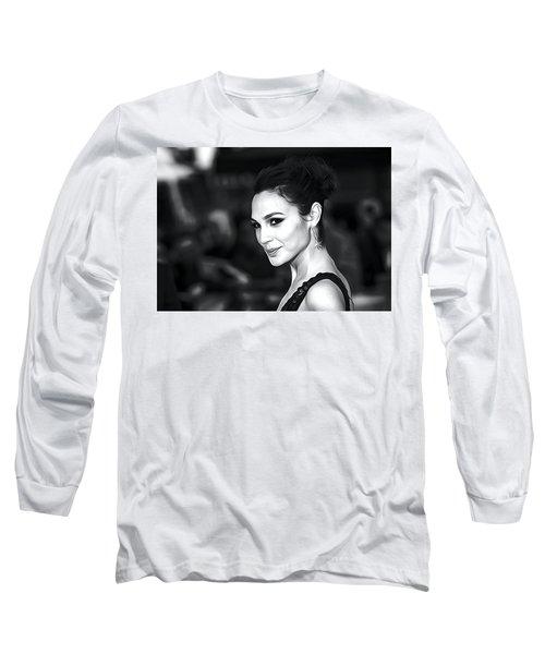 Gal Gadot Print Long Sleeve T-Shirt by Best Actors