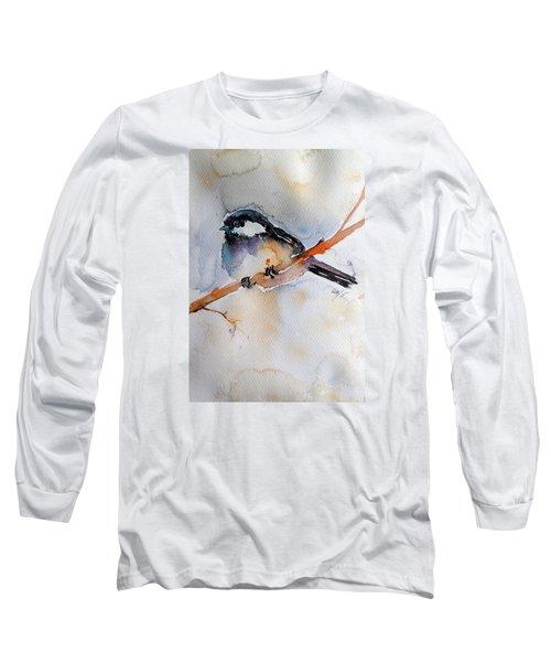 Bird Long Sleeve T-Shirt by Kovacs Anna Brigitta