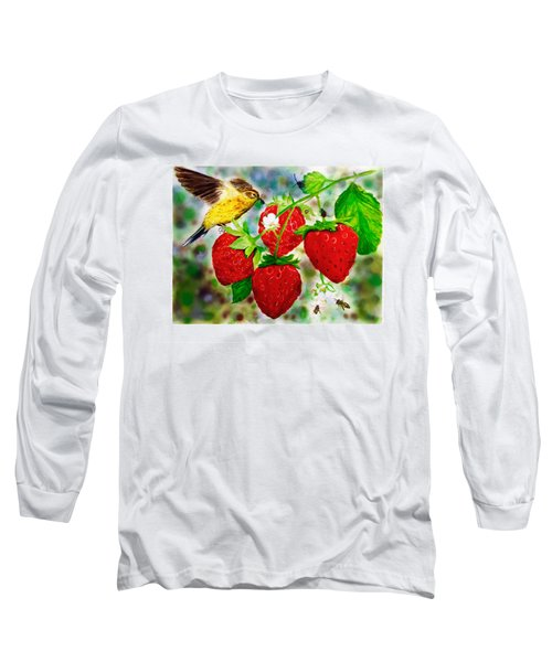 A Midsummer Daydream Long Sleeve T-Shirt by Asha Aravind
