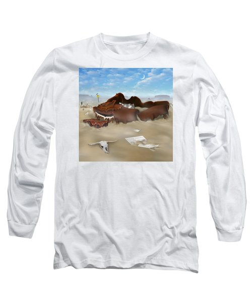 A Slow Death In Piano Valley Sq Long Sleeve T-Shirt by Mike McGlothlen