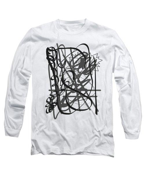 Abstract Long Sleeve T-Shirt by Oksana Demidova