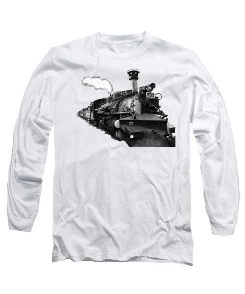 All Aboard Long Sleeve T-Shirt by Paul Lamonica