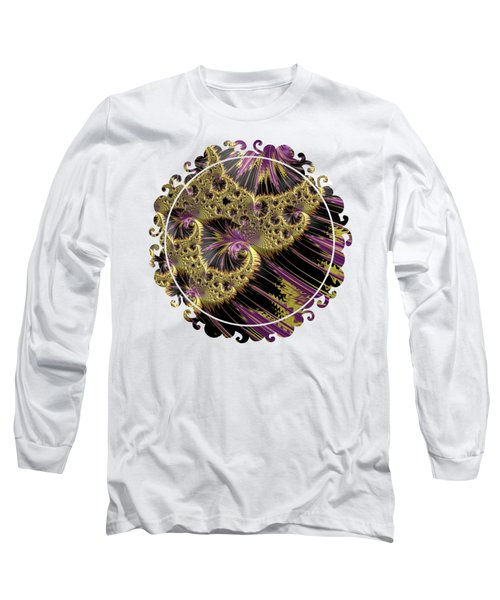 All That Glitters Long Sleeve T-Shirt by Becky Herrera