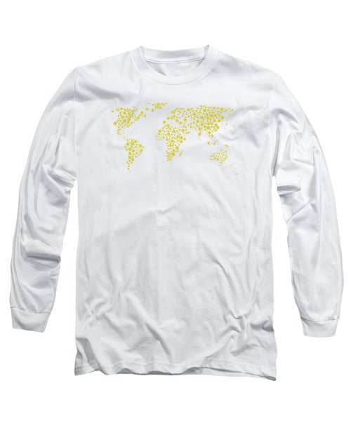 All The World Plays Tennis Long Sleeve T-Shirt by Marlene Watson