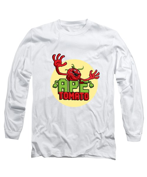 Ape Tomato Long Sleeve T-Shirt by Nicolas Palmer