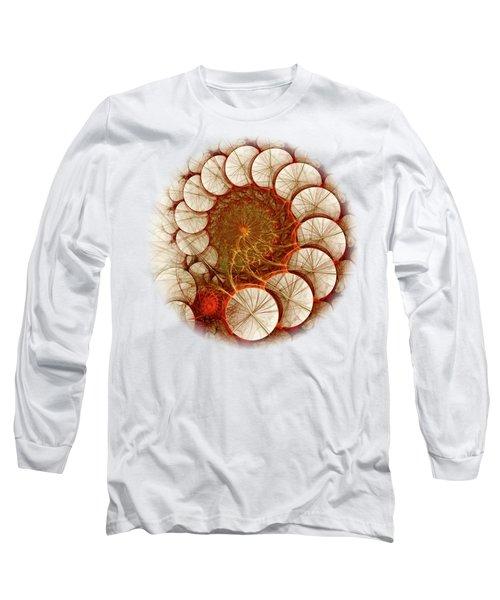 Apple Cinnamon Long Sleeve T-Shirt by Anastasiya Malakhova