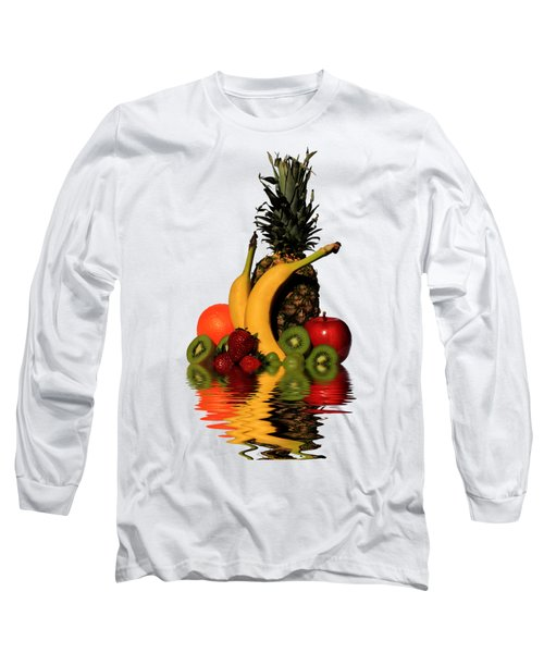 Fruity Reflections - Light Long Sleeve T-Shirt by Shane Bechler
