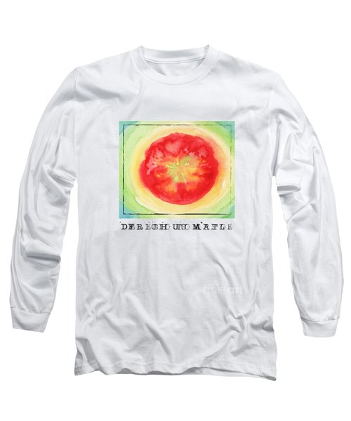 Fresh Tomato Long Sleeve T-Shirt by Kathleen Wong