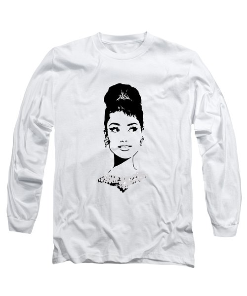 Audrey Long Sleeve T-Shirt by Rene Flores
