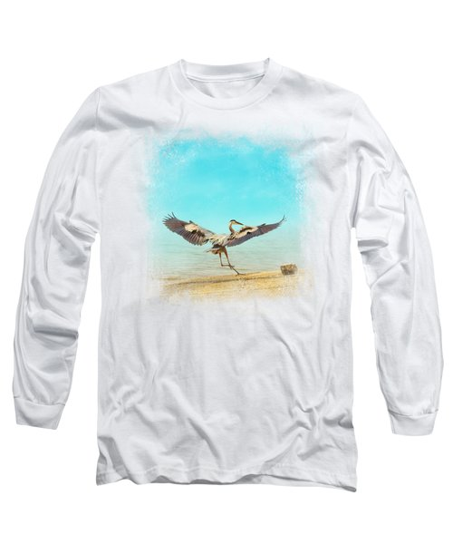 Beach Dancing Long Sleeve T-Shirt by Jai Johnson