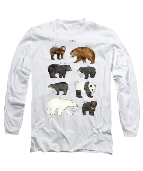 Bears Long Sleeve T-Shirt by Amy Hamilton