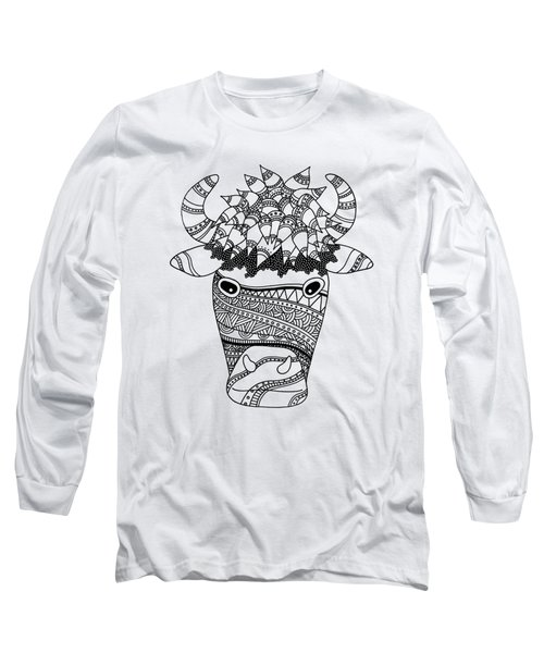 Bison Long Sleeve T-Shirt by Sarah Rosedahl