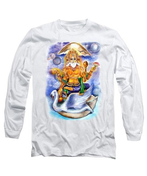 Brahma Long Sleeve T-Shirt by Alona Miroshnichenko