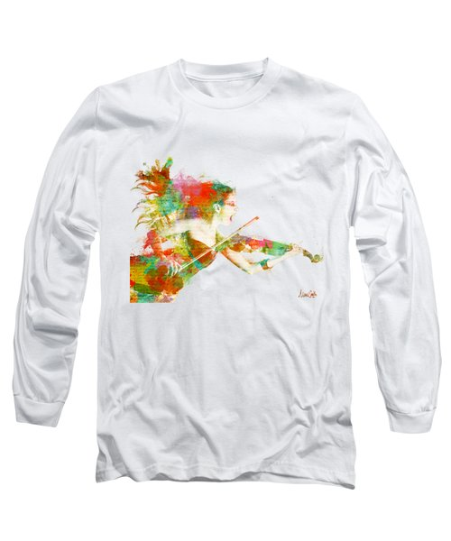 Can You Hear Me Now Long Sleeve T-Shirt by Nikki Smith