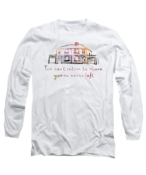 Cedarwood House Long Sleeve T-Shirt by Clad63