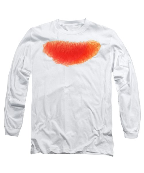 Citrus Smile Long Sleeve T-Shirt by Sverre Andreas Fekjan