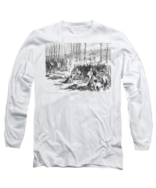 Coal Miner Strike, 1871 Long Sleeve T-Shirt by Granger