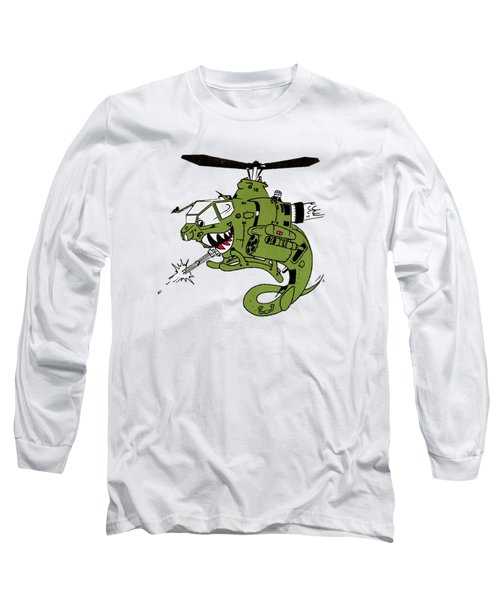 Cobra Long Sleeve T-Shirt by Julio Lopez