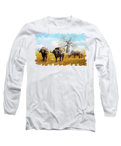Confidence Long Sleeve T-Shirt by Anthony Mwangi