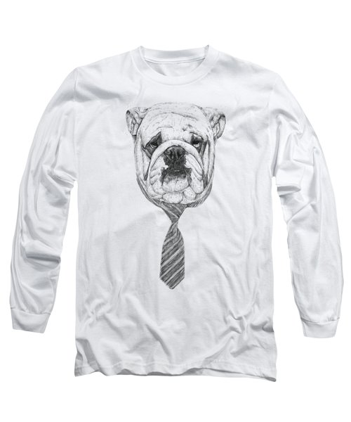 Cooldog Long Sleeve T-Shirt by Balazs Solti