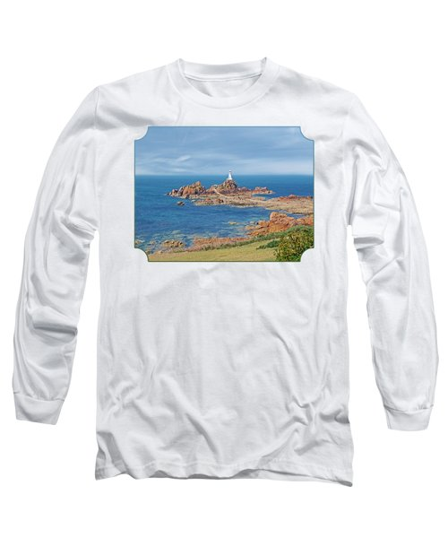 Corbiere Lighthouse Jersey Long Sleeve T-Shirt by Gill Billington