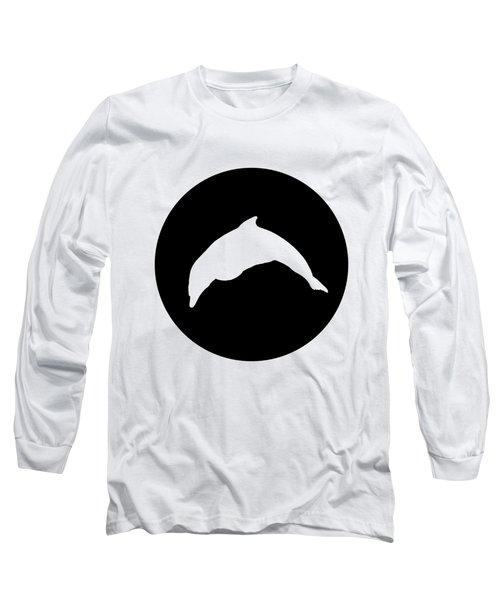 Dolphin Long Sleeve T-Shirt by Mordax Furittus
