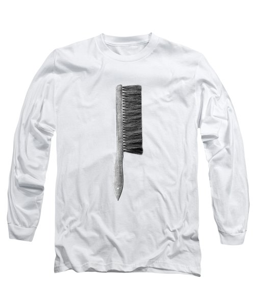 Drafting Brush Long Sleeve T-Shirt by YoPedro