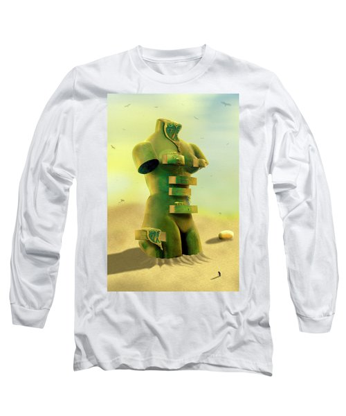 Drawers 2 Long Sleeve T-Shirt by Mike McGlothlen