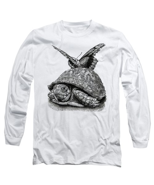 Dreams Of Flying Long Sleeve T-Shirt by Michael Volpicelli